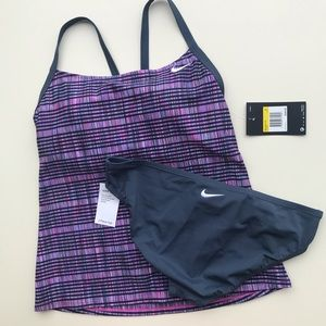 NWT Nike Swim Tankini Set